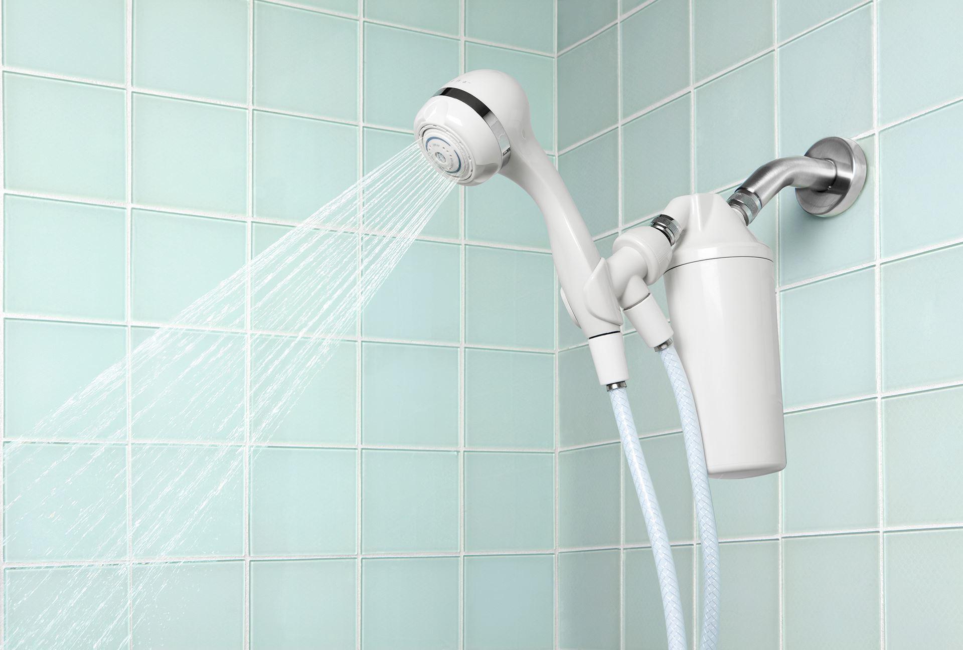 Aquasana uruguay filtro premium para ba o con ducha tel fono - Bano con ducha ...